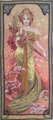 1103 TT Frühling von Alfons Mucha