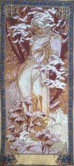 1105 TT Winter von Alfons Mucha