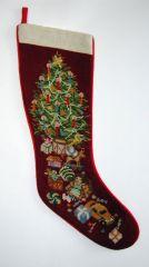 2653 DT Weihnachsstiefel groß X-mas stocking