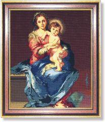 840 TT Madonna mit Kind von Murillo 51x62 cm
