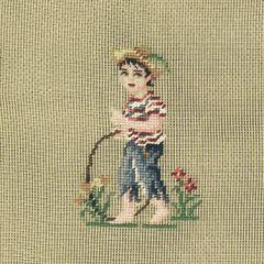 987 DT Kinderbild (Junge) 13/13 inch 32x32 cm