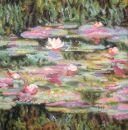 C4225 TT Kissen Seerosen Monet 20/20 inch 40x40 cm
