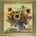 WO 28 T  Sonnenblumen 72x71 cm