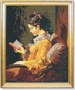 334 TT Lesendes Mädchen von Fragonard 69x55 cm