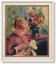 WO 761 TT Die Stickerin Renoir 52x42 cm