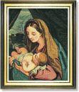 WO 767 TT Madonna mit Kind von Maratta 61x51 cm