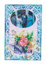 JL 056-0170 Janlynn Grußkarte Hochzeitsglocken