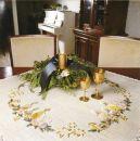 FHA 9212.B50rd  Drei Kerzen Vorgezeichnet 50 cm Stern