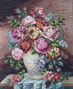 J23534-2 TT Blumen in Vase 48x59 cm  Jolles