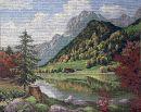J23543-3 TT Alpenlandschaft 55x43 cm  Jolles