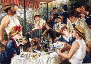 1134 TT  Das Frühstück der Ruderer v. Renoir 85x60 cm