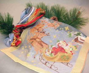 92204 TT Kissen Weihnachtsmotiv 18/18 inch  Design 36x36 cm