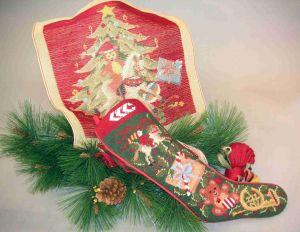 6992 TT Kissen Weihnachtsmotiv 18/18 inch  Design 40x40 cm