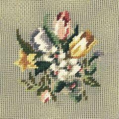 284 mf Blumenbild 8/8 inch 12x13 cm