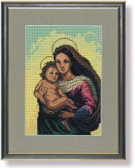 571 TT Madonna mit Kind 31x20 cm