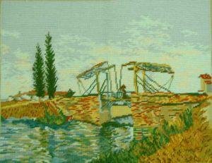 1033 TT Die Brücke in Arles 52x40 cm