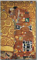 1039 TT Erfüllung von Gustav Klimt 80x133 cm