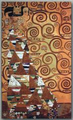 1040 TT Erwartung von Gustav Klimt 80x133 cm