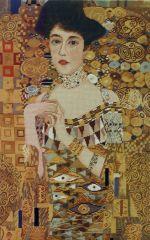 1041 TT Adele Bloch-Bauer von Gustav Klimt 45x73 cm