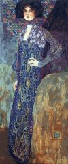 1042 TT Emilie Floege von Gustav Klimt 45x108 cm
