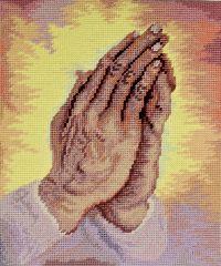 1062 TT Betende Hände 25x29 cm