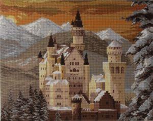 1072 TT  Schloss Neuschwanstein 27/20 inch 52x41 cm