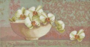 1076 TT  Blumenschale Orchidee 50x26 cm
