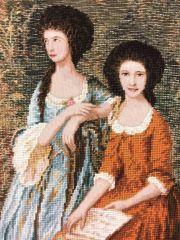 WO 736 T Die Linley Schwestern  106x46 cm
