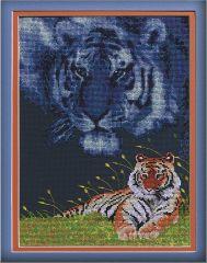 JL 013-0301 Janlynn Stickpackung Tiger