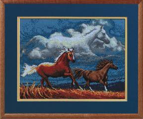 JL 013-0282 Janlynn Stickpackung Pferde