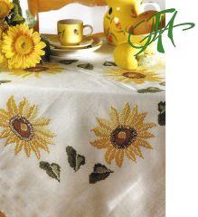 FHA 9990.C8585 Sonnenblumen Komplettpack. 85x85 cm