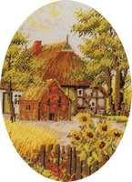 GS3040-01 Bauernhof 30x40 cm oval