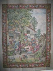 J23548 TT Bauern vor der Scheune 110x145 cm  Jolles