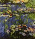 1133 TT  Wasserlilien von Monet 42x50 cm