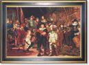 872 TT Nachtwache von Rembrandt 77x116 cm