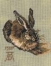 952 mf  Hase von A.Dürer 10/12 inch