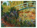 1048 TT Die Japanische Brücke von Monet 60x45 cm