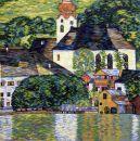 1057 TT Kirche in Unterach von Gustav Klimt61x61 cm