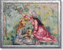 WO 795 TT Mädchen auf der Wiese von Renoir 64x50 cm