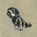 809 mf Hund in Petit   11.5/11.5 inch  12x12 cm