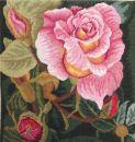 90061 TT Kissen Blumen 16/16 inch 40x40 cm