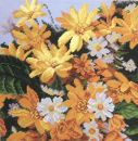 93245 TT Kissen Blumen 14/14 inch 36x36 cm