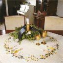 FHA 9212.B8585 Drei Kerzen Vorgezeichnet 85x85 cm